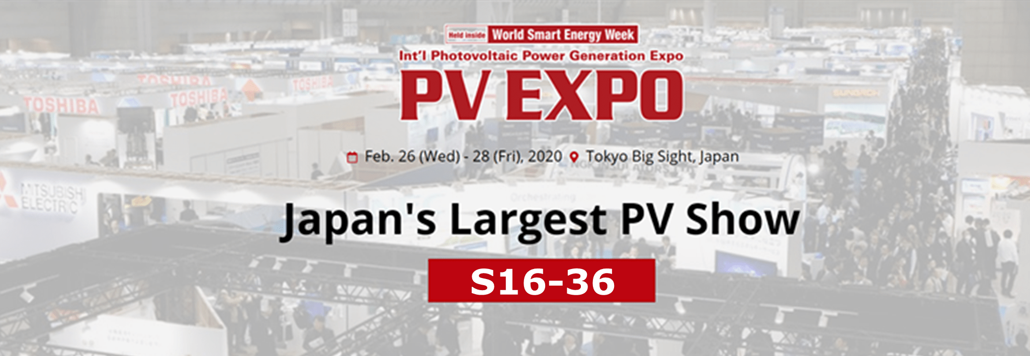 Clenergy at PV EXPO 2020 Invitation Letter