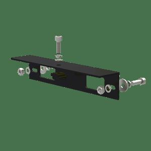 AB-SR-IS-260-B-Angle-Bracket-for-Isolator-Shade-260-mm-Length-Black-Anodized