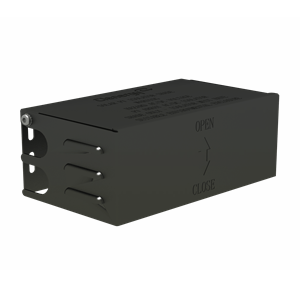 IS-SR265-111-B-Solar-Roof-Isolator-Shade-280-158-114mm-with-Z-Module-and-bolt-non-assembly-Black-Anodized