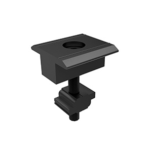 Black Anodised Inter Clamp = clamp + Z-Module + bolt (35mm - 50mm)