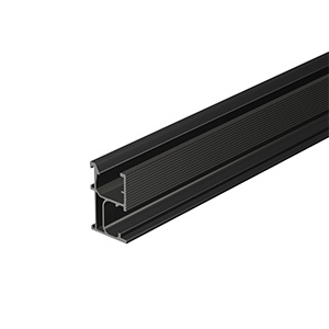 PV-ezRack ECO Rail, length 4400mm, Black Anodized