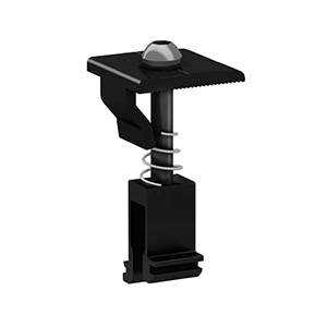 Universal Clamp for Frame Height 30-46mm (Black Anodized)
